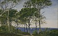 P.C. Skovgaard - View Through Beech Trees Across a Fiord - KMS4278 - Statens Museum for Kunst.jpg