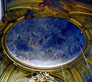 dome of the lady chapel chapelle de la sorbonne chappelle de la