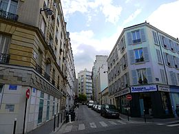 Image illustrative de l'article Rue Marmontel