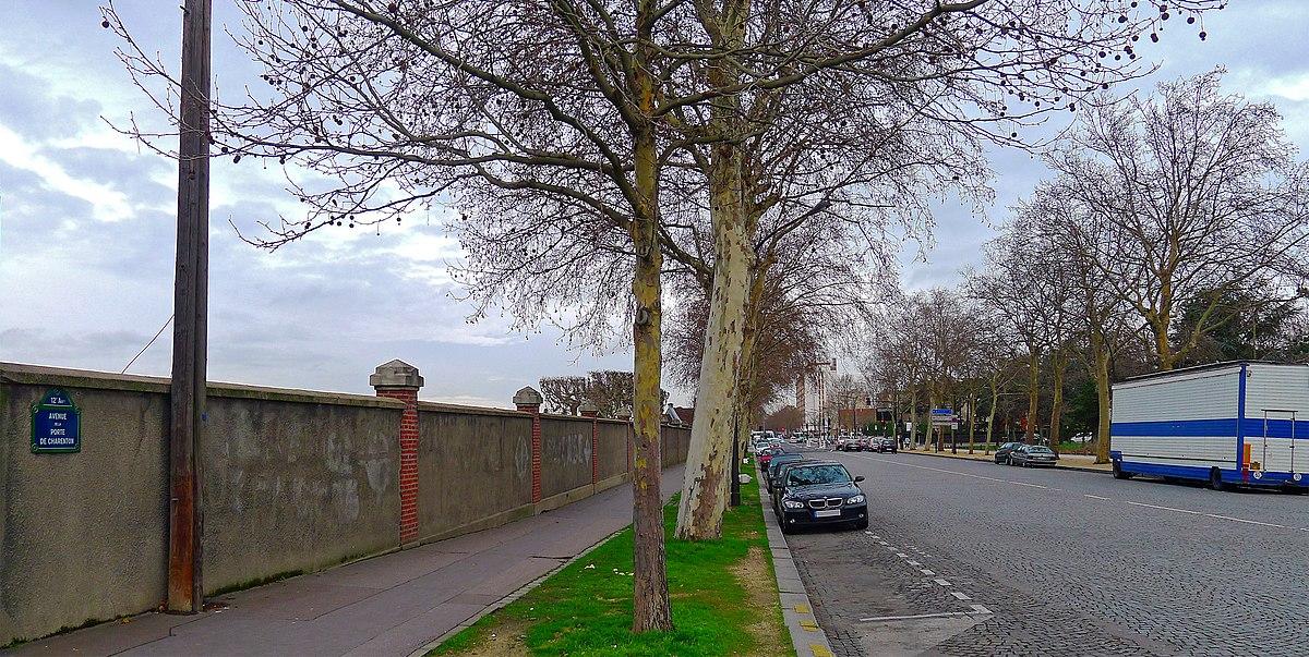 Avenue de la porte de charenton wikidata - Avenue de la porte de montrouge ...