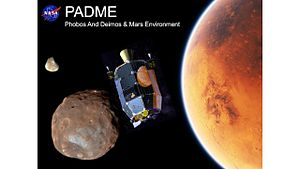 Phobos And Deimos & Mars Environment - PADME would be based on the successful LADEE lunar orbiter