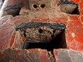 PC047729j top teeth detail red Polychrome helmet mask, Sukumu mask, Sukumu people, Tanzania (11377265674).jpg