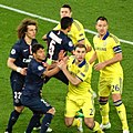 PSG 1 Chelsea 1 Champions League round of 16 1st leg (16584443735).jpg