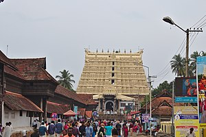 Padmanabhaswamy Temple - Gopuram of the Padmanabhaswamy Temple