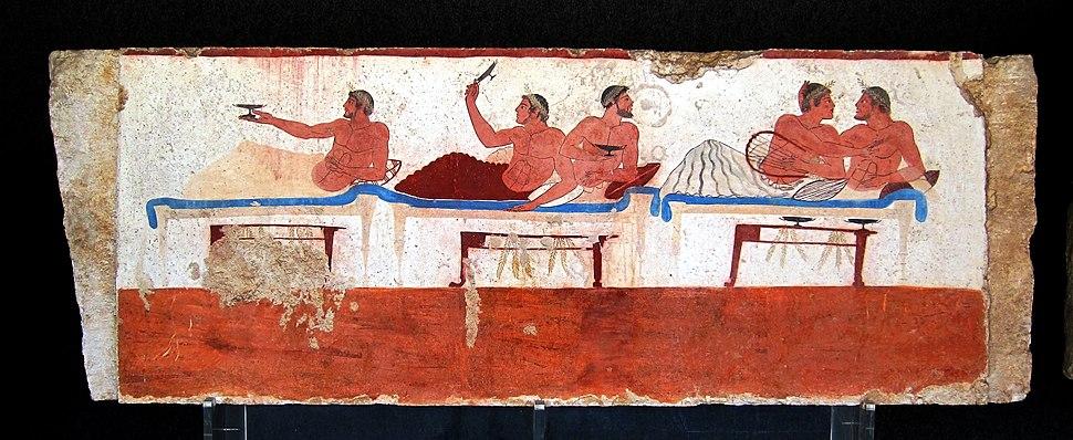Paestum tombeau plongeur c1