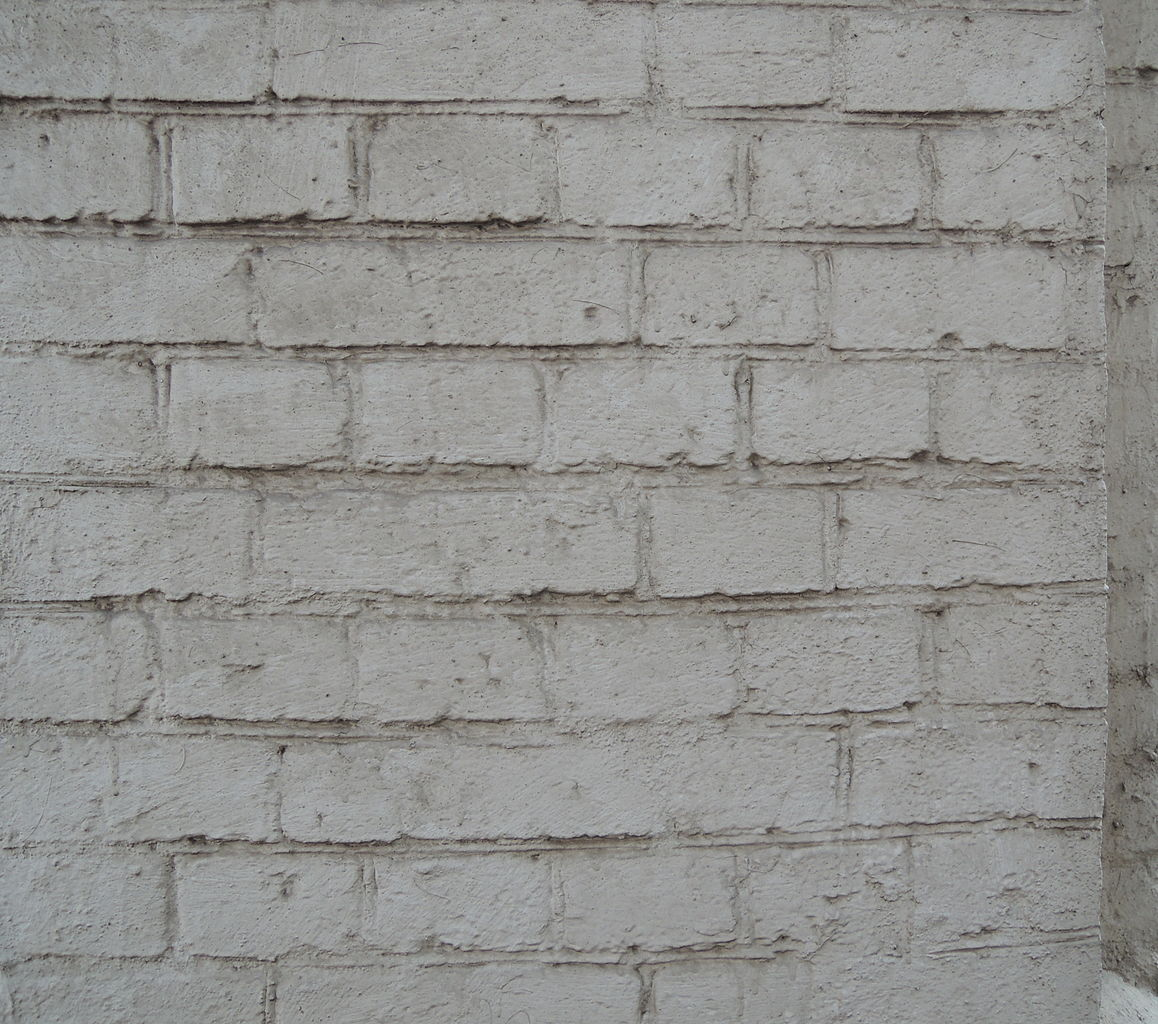 File Painted White Brick Wall Moscow 01 Jpg Wikimedia