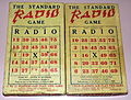 Pair Of Vintage Standard RADIO Games By Central Paper Box & Printing Co., Philadelphia, Pa., Similar To Bingo, Circa 1920s (14778648744).jpg
