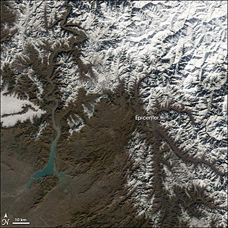 Pakistan Meteorological Department - A cold wave entering in Pakistan, 2007.
