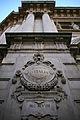 Palazzo della Banca d'Italia (Milano) Arcch. Broggi e Nava (1908-1913) Colonna sinistra MCMVIII.jpg
