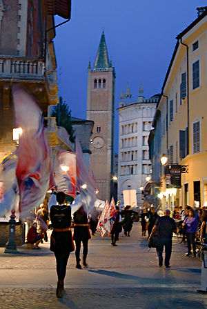 Emilia-Romagna - Parma during its Palio in September