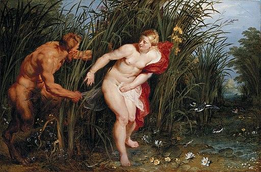 Pan syrinx Rubens