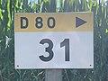 Panneau E53c PK 31 Route D80 Route Vonnas St Cyr Menthon 3.jpg