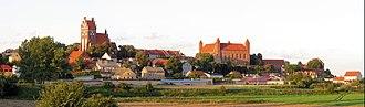 Gniew - Image: Panorama Gniewa