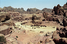 Panoramic view of Petra, Jordan (2001).jpg