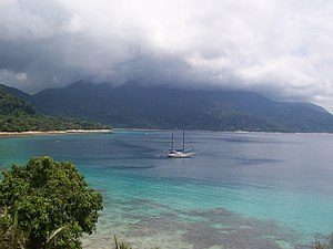 Tioman Island - View from Panuba bay