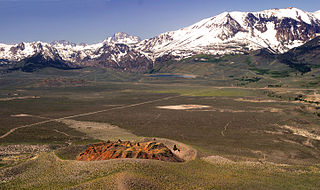 Panum Crater mountain in United States of America