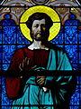 Paris (75017) Notre-Dame-de-Compassion Chapelle royale Saint-Ferdinand Vitrail 02.JPG