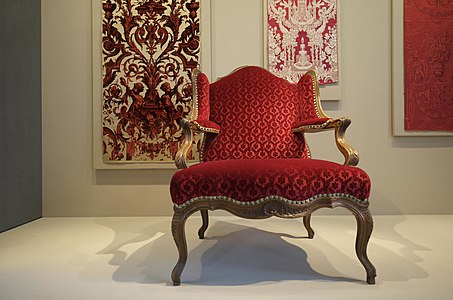 Armchair with padded wings (about 1750) & Louis XV furniture - Wikipedia