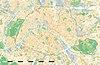 100px paris department land cover location map