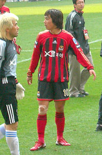 Park Chu-young playing for FC Seoul