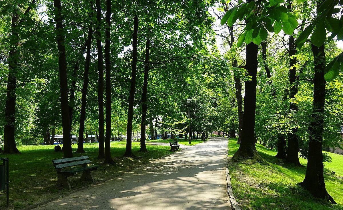 Park Kleparski – Wikipedia, wolna encyklopedia
