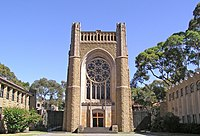 Newman College Chapel, Universiteit van Melbourne