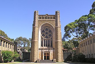 Newman College (University of Melbourne) - Newman College Chapel, University of Melbourne