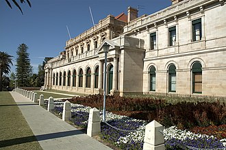 Donnybrook stone - Image: Parliament House, Perth, Western Australia