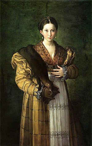 Parmigianino, Antea
