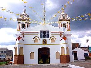 Terrenate, Tlaxcala - Church of San Nicolás de Tolentino. Terrenate, Tlaxcala.
