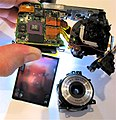 Partly disassembled Lumix digital camera.jpg