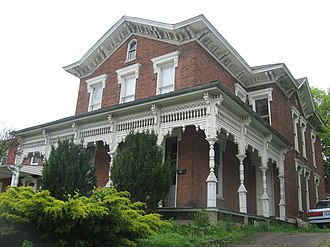 National Register of Historic Places listings in Carroll County, Kentucky - Image: Paschal Todd Baker House