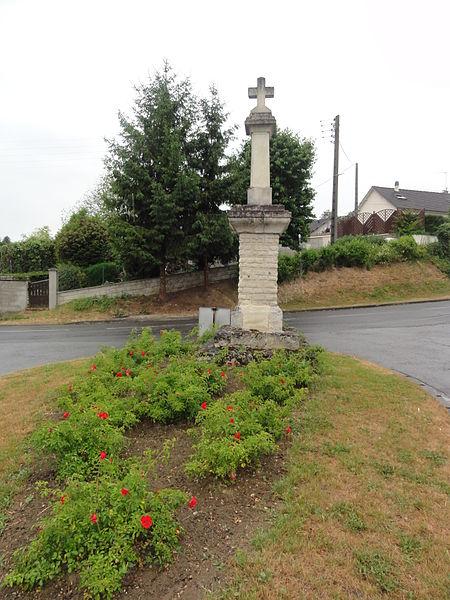 Pasly (Aisne) croix de chemin