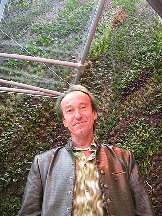 Patrick Blanc - Patrick Blanc, Centre commercial des quatre Temps (2006), La Défense, (Puteaux).