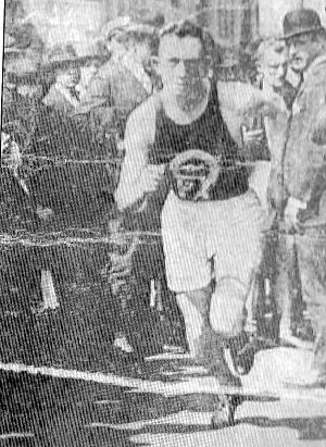 Patrick Flynn (athlete) - Patsy running in New York
