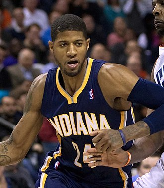 2010 NBA draft - Paul George was selected tenth by the Indiana Pacers.