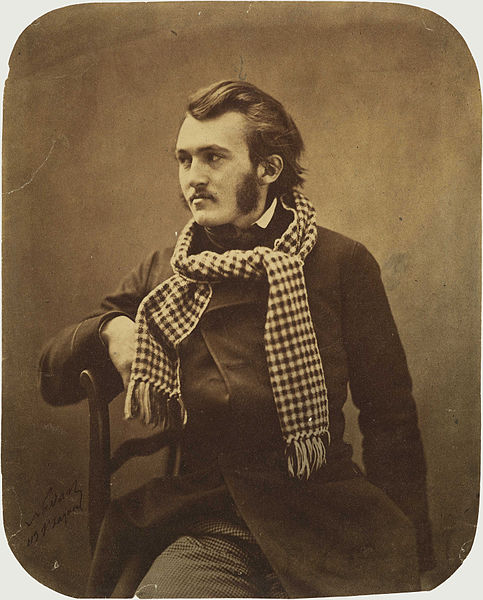 Paul Gustave Doré by Felix Nadar, Paris 1855-1859 (Public Domain via Wikimedia) {{PD-1923}}