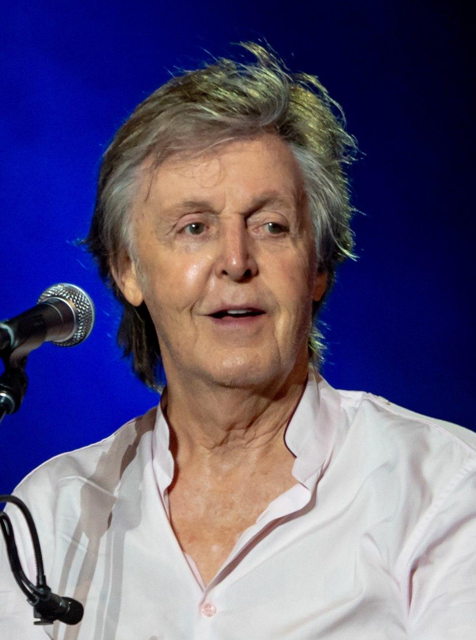 McCartney smiling