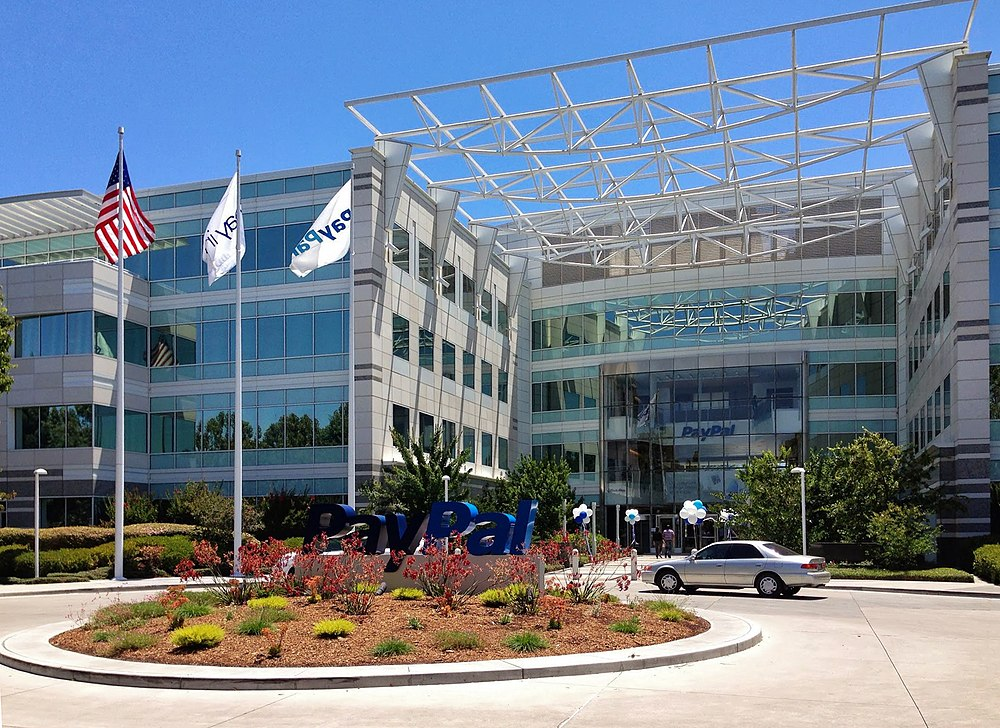 Paypal in San Jose Silicon Valley