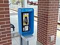 Pay phone at Jordan Valley station, Apr 16.jpg