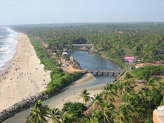 Kannur Beach - Payyambalam Beach - Joining with Padana Thodu