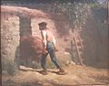 Peasant with a Wheelbarrow by Jean-Francois Millet.jpg