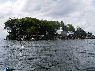 Pelican Island (Trinidad and Tobago) - Image: Pelican Island, Trinidad and Tobago