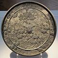 Periodo azuchi-momoyama, specchio firmto ao ietsugu, 1588.JPG