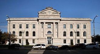 Peru, Indiana - Miami County courthouse