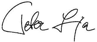 Peter Lipa - Image: Peter Lipa signature