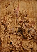 Peter Paul Rubens - The Ascent to Calvary. The Bearing of the Cross - KMS1856 - Statens Museum for Kunst.jpg