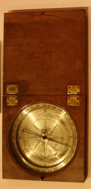 John Whitehurst - Image: Peter Perez Burdetts compass