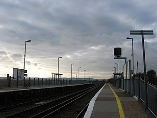 Pevensey Bay railway station Railway station in East Sussex, England