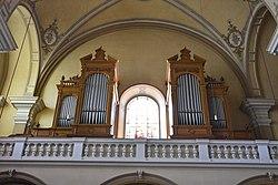 Pfarrkirche hl Peter und Paul Pischelsdorf Interior 12.jpg